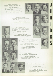 Page 111, 1954 Edition, Central High School - Cotton Boll Yearbook (Jackson, MS) online yearbook collection
