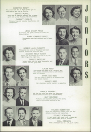 Page 113, 1954 Edition, Central High School - Cotton Boll Yearbook (Jackson, MS) online yearbook collection