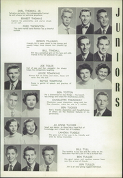 Page 117, 1954 Edition, Central High School - Cotton Boll Yearbook (Jackson, MS) online yearbook collection