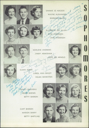 Page 125, 1954 Edition, Central High School - Cotton Boll Yearbook (Jackson, MS) online yearbook collection