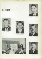 Page 19, 1954 Edition, Central High School - Cotton Boll Yearbook (Jackson, MS) online yearbook collection