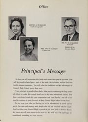 Page 12, 1959 Edition, Central High School - Cotton Boll Yearbook (Jackson, MS) online yearbook collection