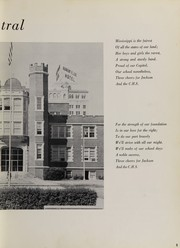 Page 9, 1959 Edition, Central High School - Cotton Boll Yearbook (Jackson, MS) online yearbook collection