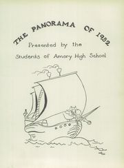 Page 5, 1952 Edition, Amory High School - Panorama Yearbook (Amory, MS) online yearbook collection