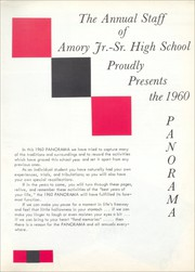 Page 7, 1960 Edition, Amory High School - Panorama Yearbook (Amory, MS) online yearbook collection