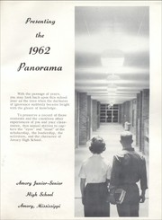 Page 5, 1962 Edition, Amory High School - Panorama Yearbook (Amory, MS) online yearbook collection