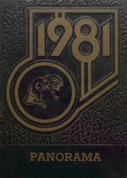 1981 Edition, Amory High School - Panorama Yearbook (Amory, MS)