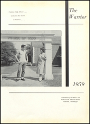 Page 5, 1959 Edition, Pontotoc High School - Warrior Yearbook (Pontotoc, MS) online yearbook collection