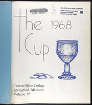 Page 5, 1968 Edition, Central Bible College - Cup Yearbook (Springfield, MO) online yearbook collection