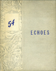 1954 Edition, Newton High School - Echoes Yearbook (Newton, MS)