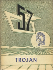 1957 Edition, Bruce High School - Trojan Yearbook (Bruce, MS)