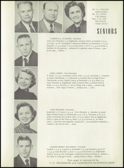 Page 15, 1954 Edition, Ripley High School - Echoes Yearbook (Ripley, MS) online yearbook collection