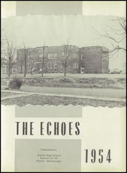Page 7, 1954 Edition, Ripley High School - Echoes Yearbook (Ripley, MS) online yearbook collection
