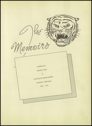 Page 7, 1951 Edition, Nettleton High School - Memoirs Yearbook (Nettleton, MS) online yearbook collection