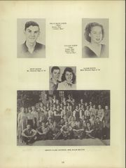 Page 14, 1949 Edition, Belmont High School - Belmontian Yearbook (Belmont, MS) online yearbook collection