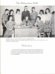 Page 8, 1962 Edition, Belmont High School - Belmontian Yearbook (Belmont, MS) online yearbook collection