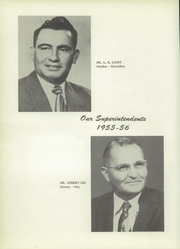 Page 8, 1956 Edition, Hatley High School - Echo Yearbook (Hatley, MS) online yearbook collection