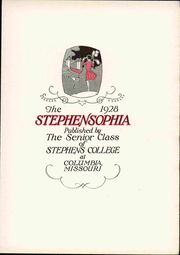 Page 9, 1928 Edition, Stephens College - Stephensophia Yearbook (Columbia, MO) online yearbook collection