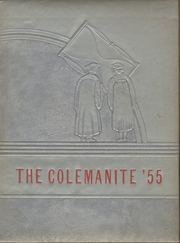 1955 Edition, Coleman High School - Colemanite Yearbook (Greenville, MS)