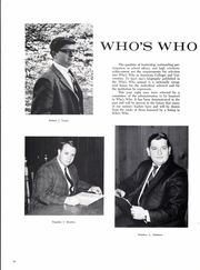 Page 14, 1966 Edition, Babson College - Babsonian Yearbook (Wellesley, MA) online yearbook collection