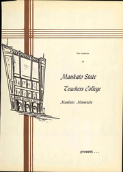 Page 7, 1954 Edition, Minnesota State University - Katonian Yearbook (Mankato, MN) online yearbook collection