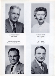 Page 12, 1957 Edition, Minnesota State University - Katonian Yearbook (Mankato, MN) online yearbook collection