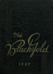 1947 Edition, Bass High School - Black and Gold Yearbook (Greenville, MS)