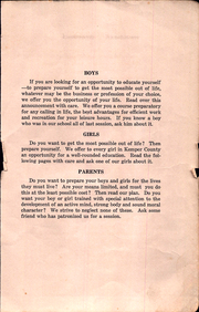 Page 5, 1917 Edition, Kemper County Agricultural High School - Yearbook (Scooba, MS) online yearbook collection