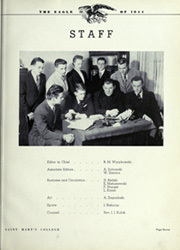 Page 11, 1944 Edition, Mount Saint Marys College - Eagle Yearbook (Orchard Lake, MI) online yearbook collection