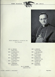 Page 15, 1944 Edition, Mount Saint Marys College - Eagle Yearbook (Orchard Lake, MI) online yearbook collection