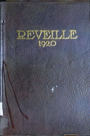 Fort Hays State University - Reveille Yearbook (Hays, KS) online yearbook collection, 1920 Edition, Page 1
