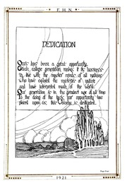 Page 5, 1921 Edition, Fort Hays State University - Reveille Yearbook (Hays, KS) online yearbook collection