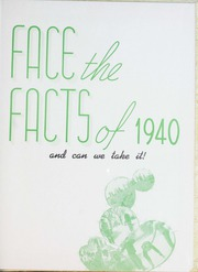 Page 7, 1940 Edition, Fort Hays State University - Reveille Yearbook (Hays, KS) online yearbook collection