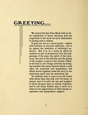 Page 14, 1906 Edition, Baker University - Wildcat Yearbook (Baldwin City, KS) online yearbook collection
