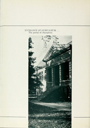 Page 12, 1935 Edition, Baker University - Wildcat Yearbook (Baldwin City, KS) online yearbook collection