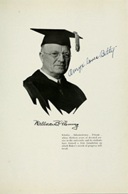 Page 17, 1935 Edition, Baker University - Wildcat Yearbook (Baldwin City, KS) online yearbook collection