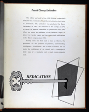 Page 9, 1962 Edition, Baker University - Wildcat Yearbook (Baldwin City, KS) online yearbook collection