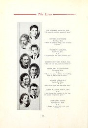 Page 16, 1935 Edition, East Mississippi Community College - Lion Yearbook (Scooba, MS) online yearbook collection
