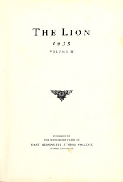 Page 3, 1935 Edition, East Mississippi Community College - Lion Yearbook (Scooba, MS) online yearbook collection