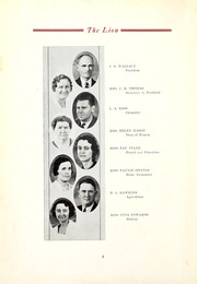 Page 6, 1935 Edition, East Mississippi Community College - Lion Yearbook (Scooba, MS) online yearbook collection