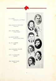 Page 7, 1935 Edition, East Mississippi Community College - Lion Yearbook (Scooba, MS) online yearbook collection