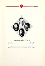 Page 9, 1935 Edition, East Mississippi Community College - Lion Yearbook (Scooba, MS) online yearbook collection