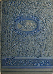 Page 1, 1939 Edition, East Mississippi Community College - Lion Yearbook (Scooba, MS) online yearbook collection