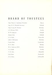 Page 14, 1939 Edition, East Mississippi Community College - Lion Yearbook (Scooba, MS) online yearbook collection