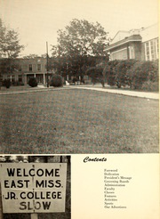 Page 7, 1957 Edition, East Mississippi Community College - Lion Yearbook (Scooba, MS) online yearbook collection