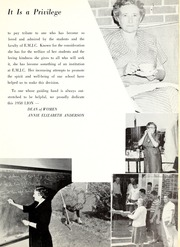 Page 15, 1958 Edition, East Mississippi Community College - Lion Yearbook (Scooba, MS) online yearbook collection