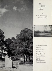Page 7, 1960 Edition, East Mississippi Community College - Lion Yearbook (Scooba, MS) online yearbook collection