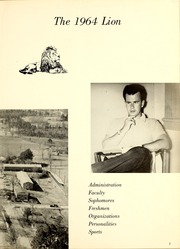 Page 7, 1964 Edition, East Mississippi Community College - Lion Yearbook (Scooba, MS) online yearbook collection