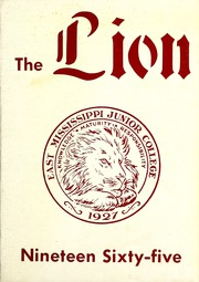 Page 1, 1965 Edition, East Mississippi Community College - Lion Yearbook (Scooba, MS) online yearbook collection
