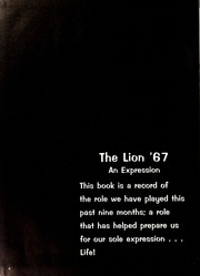 Page 8, 1967 Edition, East Mississippi Community College - Lion Yearbook (Scooba, MS) online yearbook collection